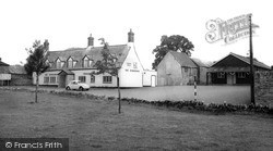 Lavendon, The Horseshoe And Village Hall c.1965