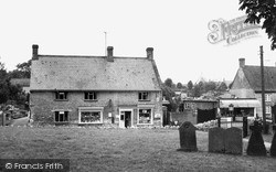 Lavendon, The Post Office c.1965