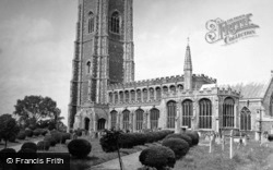 Church 1950, Lavenham