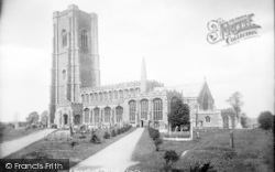 Lavenham, Church Of Ss Peter And Paul 1904