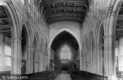 Church Of St Peter And Paul, Interior 1895, Lavenham