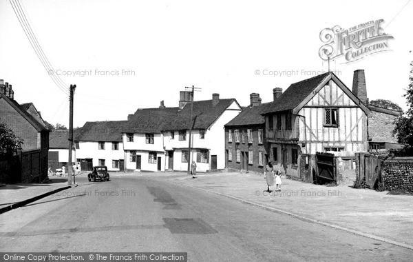 Photo of Lavenham, Church Street c.1955