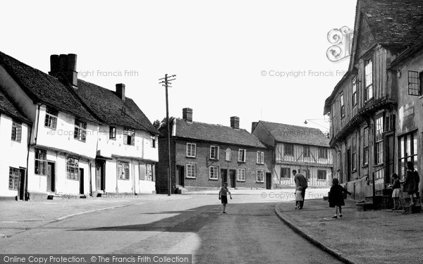 Photo of Lavenham, Church Street c.1955