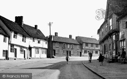 Church Street c.1955, Lavenham