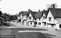 High Street c.1955, Lavenham