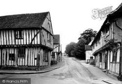Lady Street c.1955, Lavenham