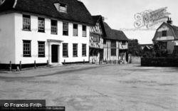 Market Place 1950, Lavenham