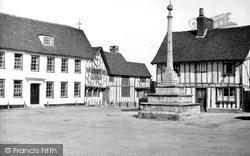 Market Place c.1955, Lavenham