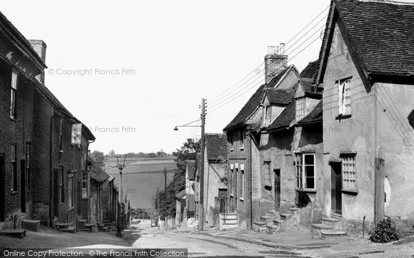 Photo of Lavenham, Prentice Street c.1955