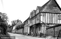 Shilling Street c.1955, Lavenham