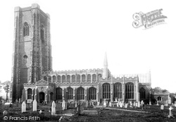 Lavenham, St Peter And St Paul's Church 1895