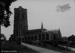 St Peter And St Paul's Church c.1960, Lavenham