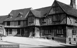 The Guildhall c.1955, Lavenham