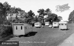 Caravan Park c.1960, Lavernock