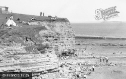 Lavernock, St Mary's Well Bay c.1955