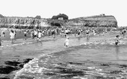 Lavernock, St Mary's Well Bay c1955