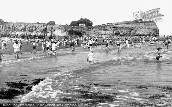 Photo of Lavernock, St Mary's Well Bay c1955