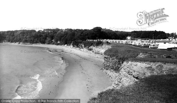 Photo of Lavernock, St Mary's Well Bay c.1960