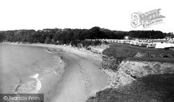 Lavernock, St Mary's Well Bay c.1960