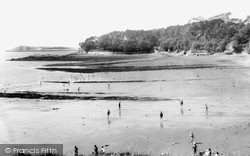 Lavernock, St Mary's Well Bay c.1970