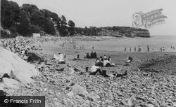Lavernock, The Bay c.1970