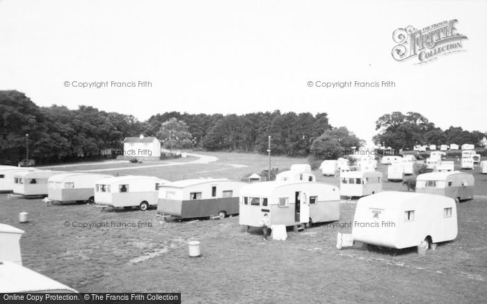 Photo of Lavernock, The Bay Caravan Park c.1955