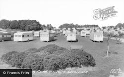 Lavernock, The Bay Caravan Park c.1960