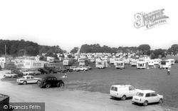 Lavernock,  The Bay Caravan Park c.1970