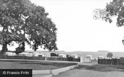 Lavernock, The Bay Caravan Park, St Mary's Well Bay c.1960