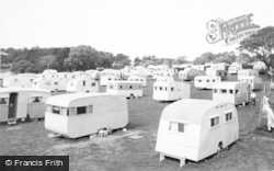 Lavernock, The Bay Caravan Site c.1955