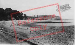 Lavernock, The Beach c.1960