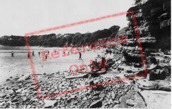 Lavernock, The Beach c.1965