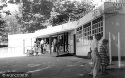 Lavernock, The Shop, The Bay Caravan Site c.1970