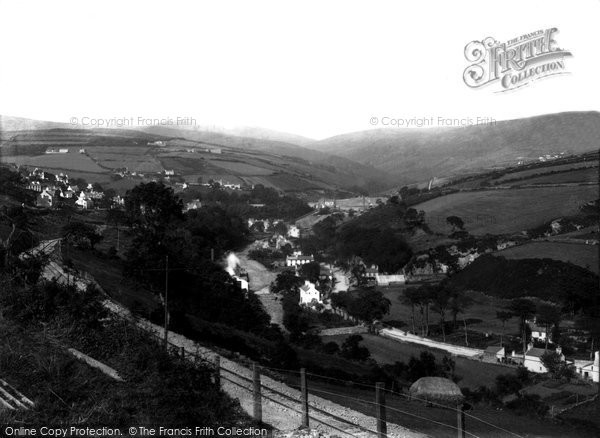 Photo of Laxey, 1894