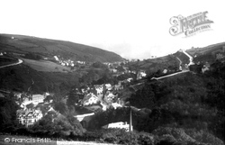 Laxey, From The Wheel Looking East 1894
