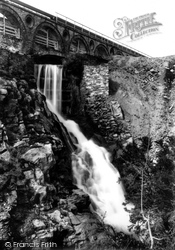 Laxey, The Waterfall 1896