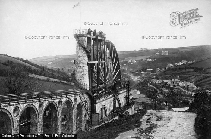 Photo of Laxey, The Wheel 1896