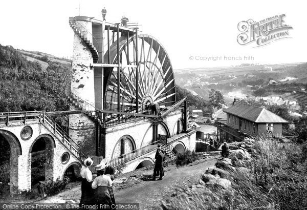 Photo of Laxey, The Wheel 1907