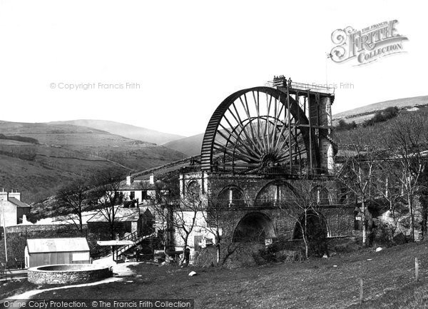 Photo of Laxey, Wheel 1896
