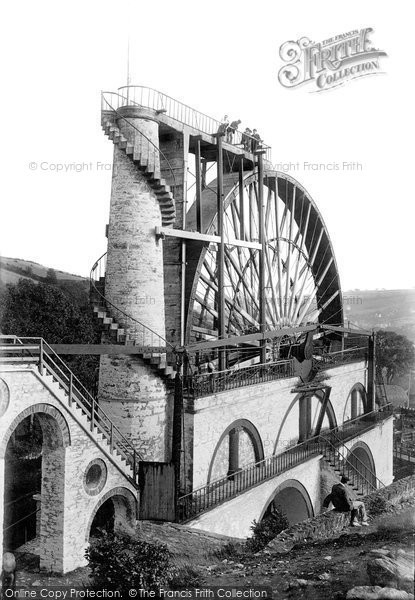 Photo of Laxey, Wheel 1897