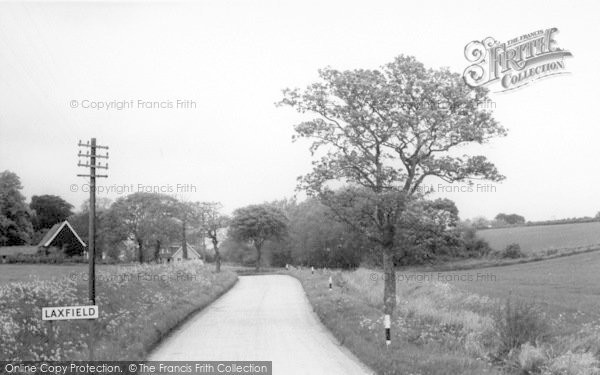 Photo of Laxfield, Barn Road c.1960