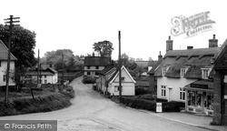 Bridge Street c.1960, Laxfield