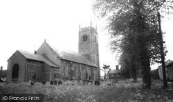 Laxfield, Church Of All Saints c.1955