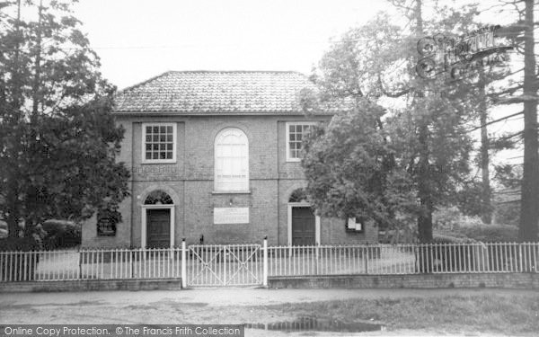 Photo of Laxfield, The Chapel c.1960