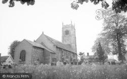 The Church c.1955, Laxfield