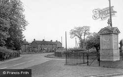 The Cross Roads c.1955, Laxfield