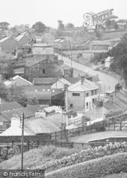 Lazonby, From Church Tower c.1955