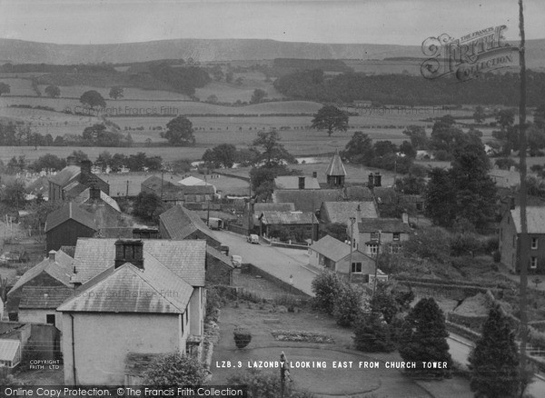 Photo of Lazonby, Looking East From Church Tower c.1955