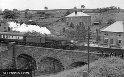 Lazonby, Steam Train On The Viaduct c.1965
