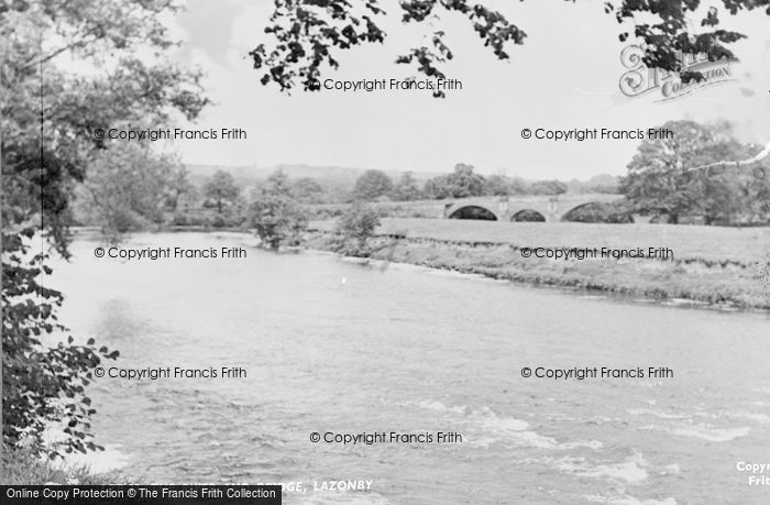 Photo of Lazonby, The River And Bridge c.1965